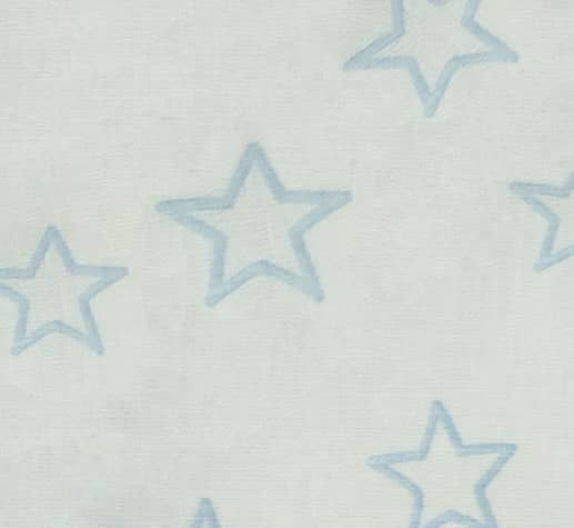 Paidika yfasmata gia kourtines STARS LIGHT BLUE
